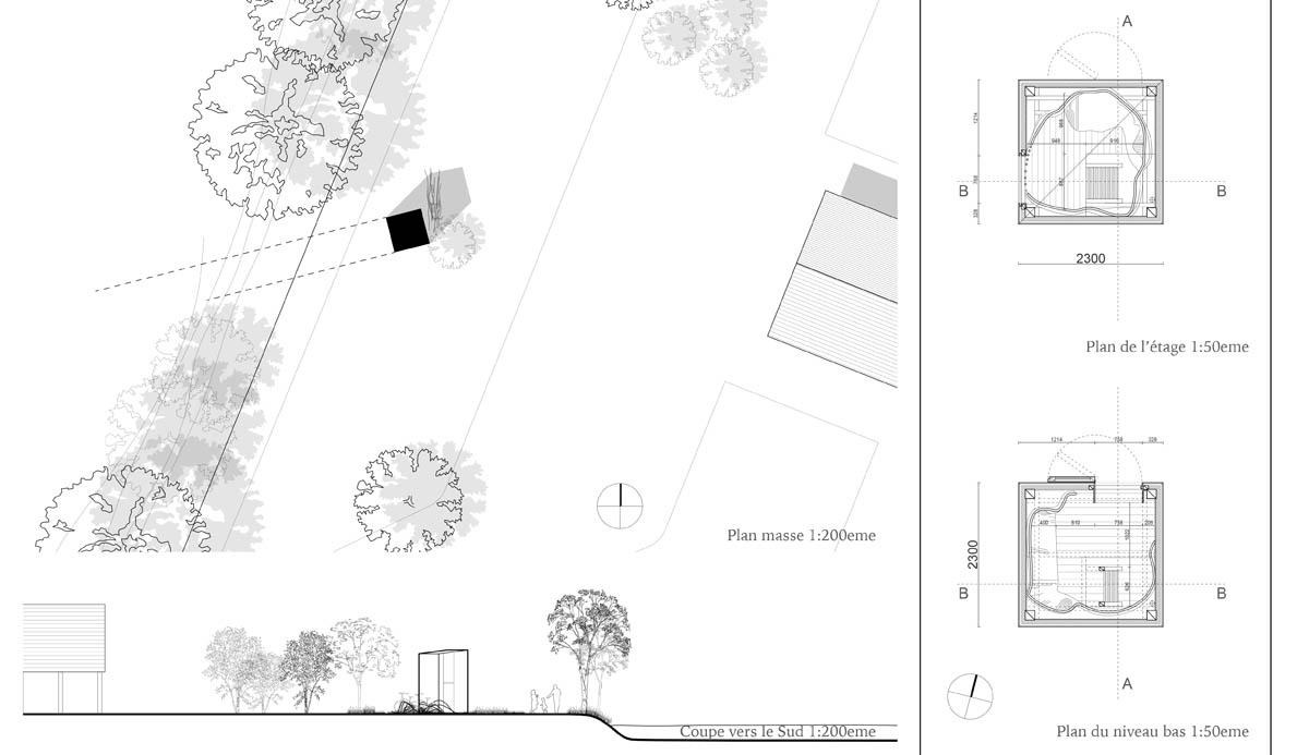 Loge de Loire - Plans